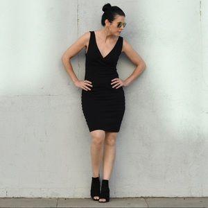 EXPRESS Black Sleeveless Bandage Mini Dress S